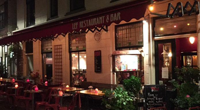 Restaurant en bar LEF